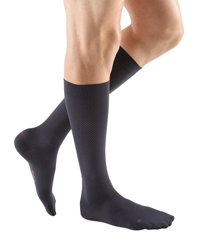 Mediven for Men Select, 30-40 mmHg, Knee High, Extra-Wide Calf, Closed Toe