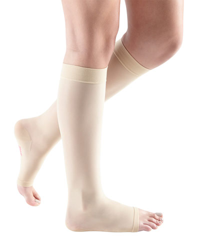 Mediven Sheer & Soft, 15-20 mmHg, Knee High, Open Toe