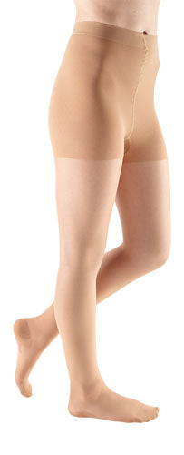 Mediven Sheer & Soft, 15-20 mmHg, Waist High, Closed Toe