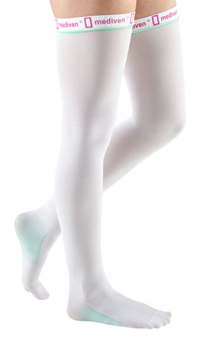 Mediven Thrombexin, 18 mmHg, Thigh High, Open Toe