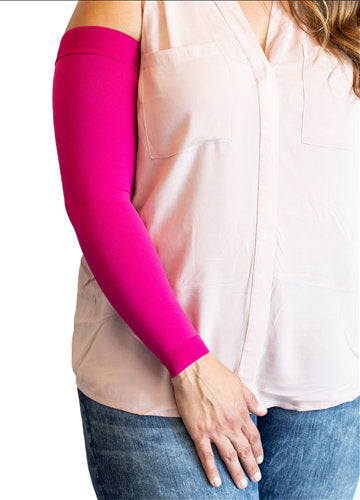Mediven Comfort Armsleeve, 20-30 mmHg, Extra-Wide Microdot Top Band