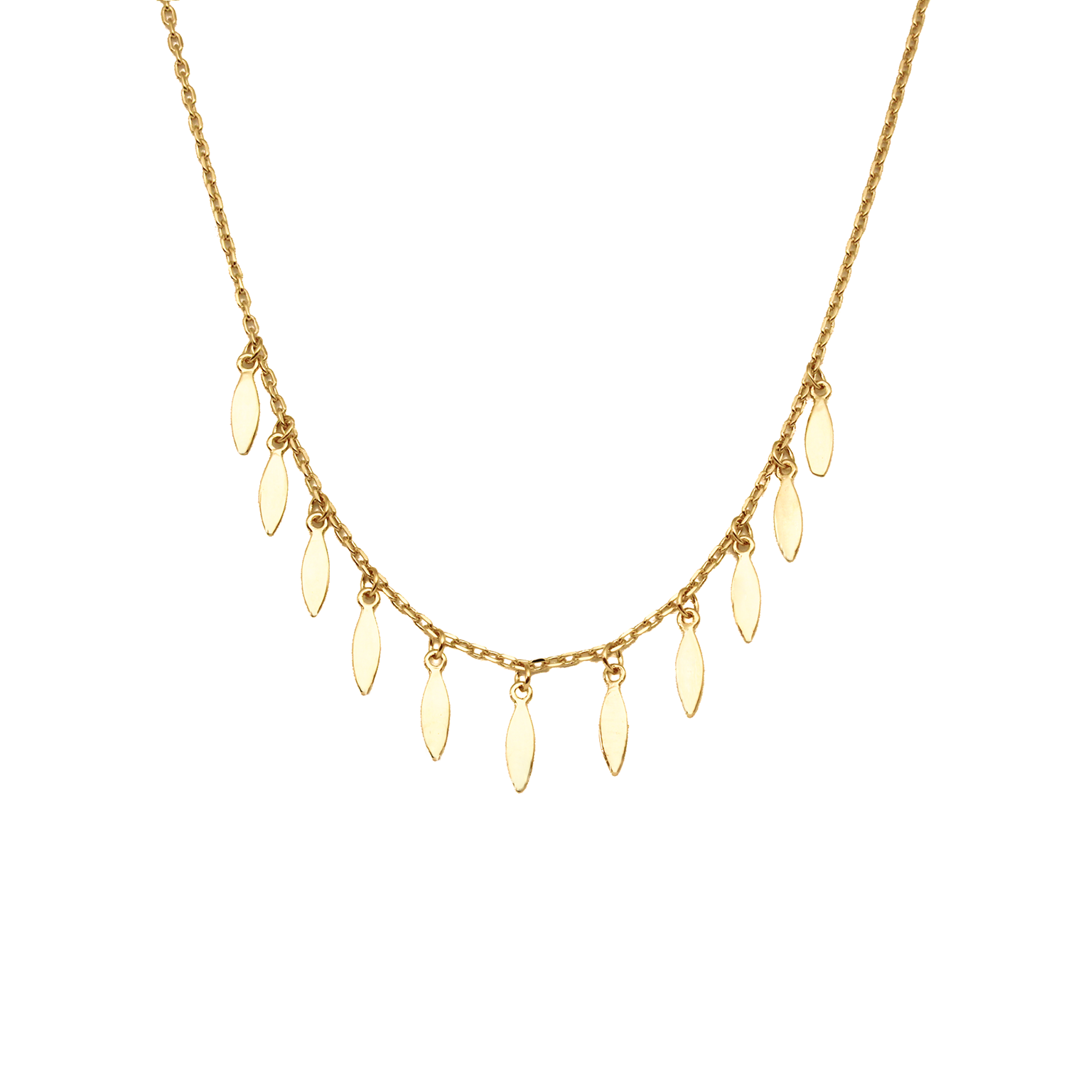 Revi Studios - 18K gold-plated Jewelry. Necklace bohemian style.