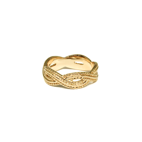 Revi Studios - 18K gold-plated Jewelry. Ring bohemian style.