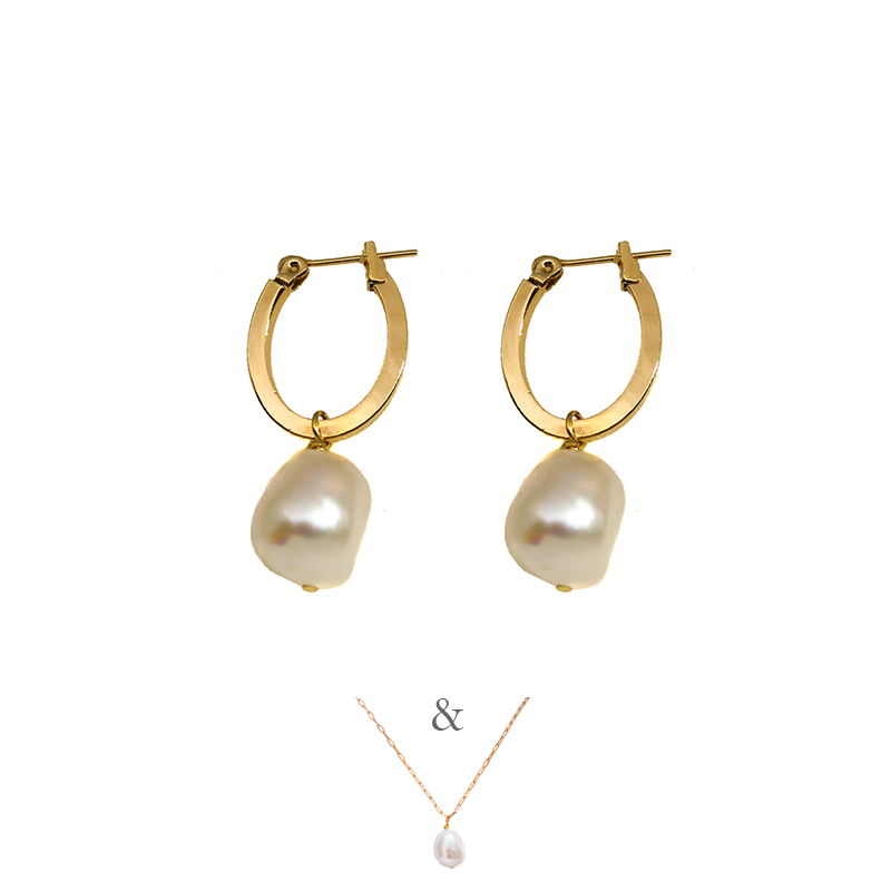 PATKÓ EARRINGS & DITTE SET