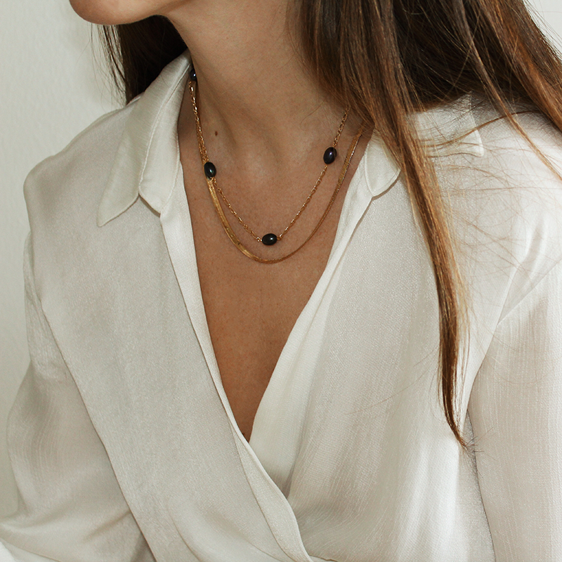 NEW! PEARL NECKLACE | SYLVIA