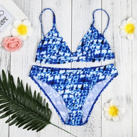 Enchanting Women Bikini Set Swimwear Push-Up