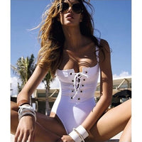 Enchanting Women Swimming Costume Padded Swimsuit