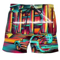 Glowing City Shorts