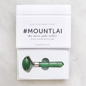 The De-Puffing Mini Jade Facial Roller