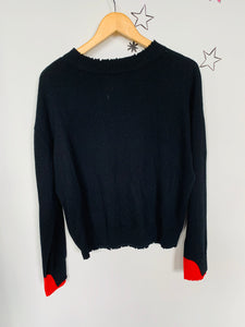 Glitter Star Sweater