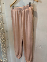 Dusty Rose Knit Joggers
