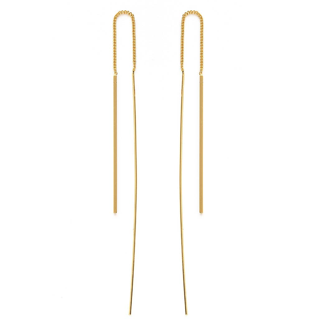 17NTH | Needle and Thread Earrings