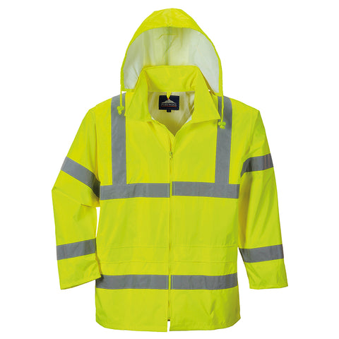 Portwest PW011 Hi-vis rain jacket