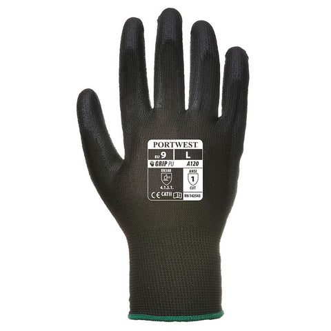 PW081 PU palm-coated glove (A120)