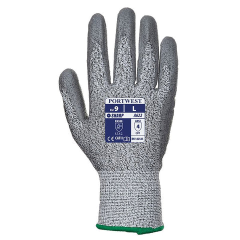 PW221 Cut 5 PU palm glove (A622)