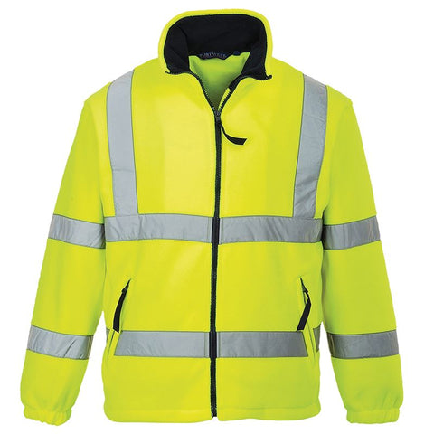 Portwest PW963 Hi-vis mesh lined fleece