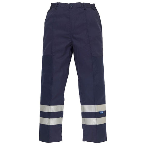 YK074 Reflective polycotton ballistic trousers (BS015T)