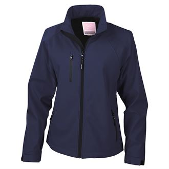 Result R128F Softshell Navy - SALE (Last Stock)