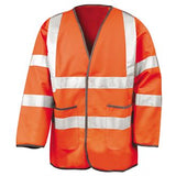 Hi Viz Long Sleeve Motorway Jerkin