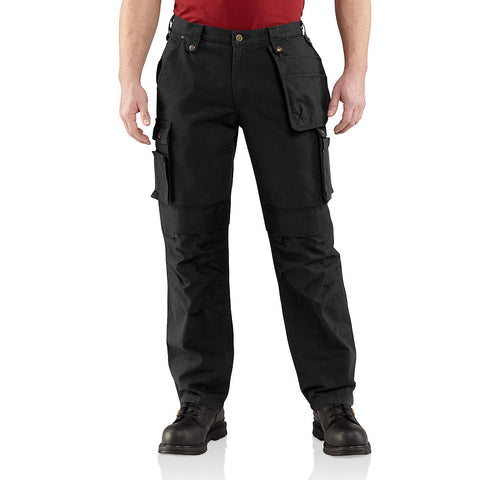 Carhartt Multi-Pocket Ripstop Pant Black - SALE (Last stock)