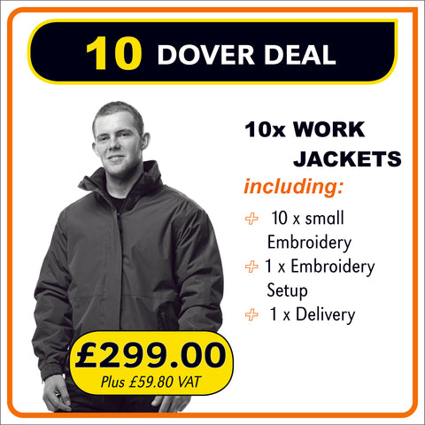 10JACKET Deal - only £29.90 each