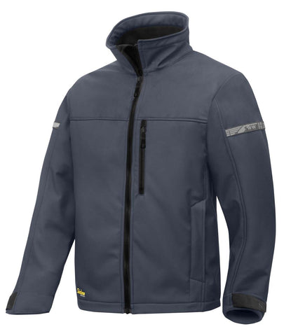 Snickers 1200 5804 Softshell Jacket - Steel Grey/Black Large - SALE
