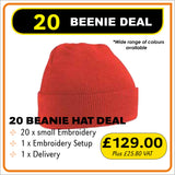 20BEANIE Deal - only £6.45 each