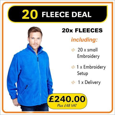 20FLEECE Deal - only £12.00 each