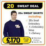20-SWEAT-DEAL - only £8.50 each