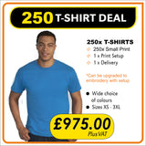 250 TSHIRT Deal - only £4.90 each