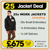 25JACKET Deal - only £27.00 each