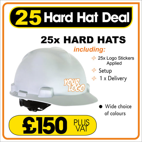 25 HARD HAT DEAL - only £6.00 Each
