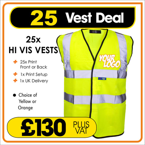 25VEST Deal - only £5.20 each