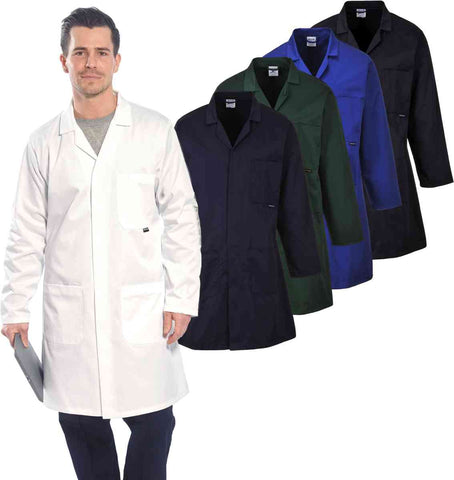 Portwest 2852 Men Standard Coat Warehouse Lab