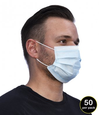 Regatta Type I 3-Ply Disposable Face Mask