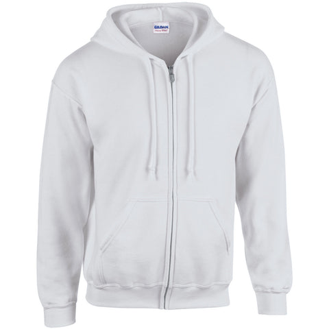 GD058 Heavy Blend™ full zip hooded sweatshirt