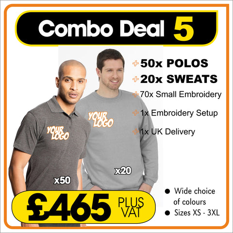 COMBO-DEAL-5 - ONLY £465
