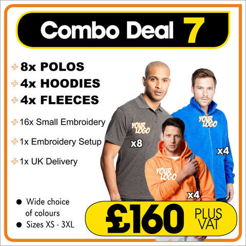 COMBO-DEAL-7 - ONLY £160