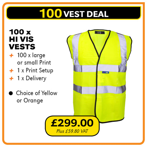 100VEST Deal - only £2.99 each