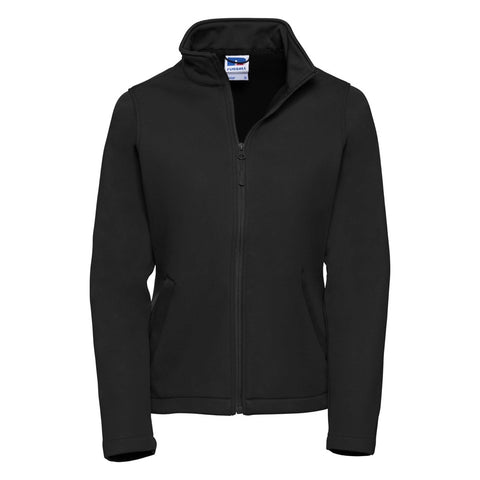 Russell Softshell Jacket Mens/Ladies - TRUFFLES