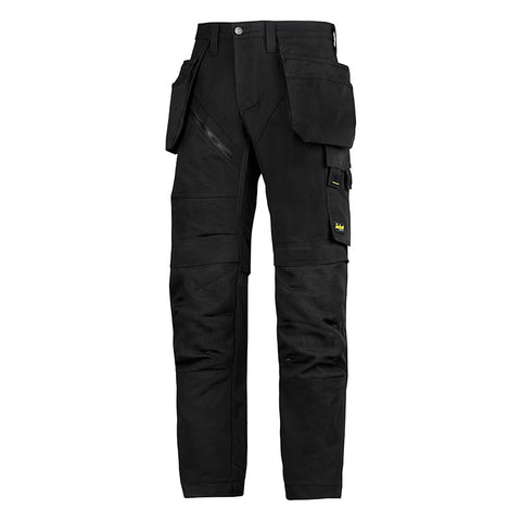 SNICKERS RUFF WORK 6203 TROUSER BLACK - SALE (Limited Sizes)