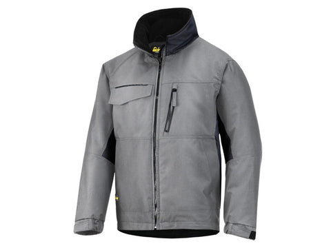 Snickers 1128 Craftsmen Winter Jacket - Grey/Black (Size Selection)