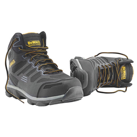 DeWalt Crossfire Kevlar Safety Boots Black / Grey