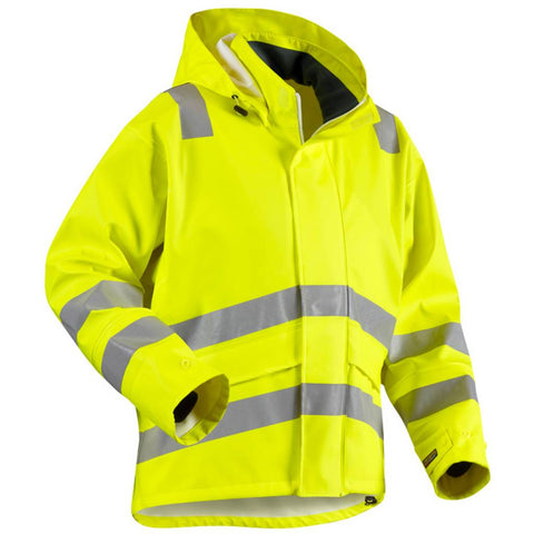 Blaklader 4302 Rain jacket Level 2 - Yellow (Last Stock)