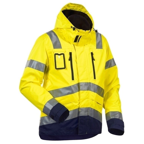 Blaklader 4837 Waterproof High Vis Jacket - SALE (Last One)
