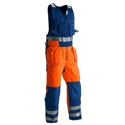 Blaklader 8504 Winter Sleeveless Overalls, Hi Vis - SALE (LAST STOCK)