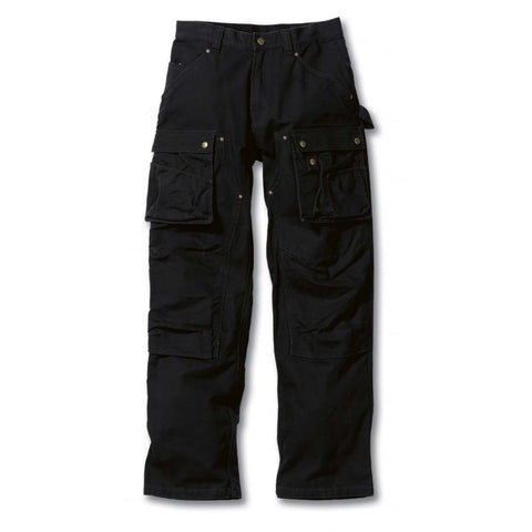 Carhartt EB219 Duck Multi pocket trouser Black - SALE (Last sizes)
