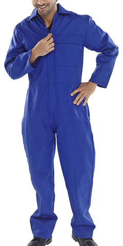 Click Flame Retardant CFRBS Boilersuit  Royal Blue - SALE (LAST LINES)