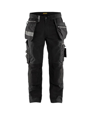 Blaklader 1590 - Craftsman Trouser With Stretch Black