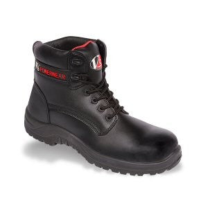 V12 Otter Black Metal Free Derby Boot (V6400)